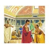 Public Baths in Ancient Rome