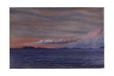 Mount Erebus  6pm  Aril 2  1911