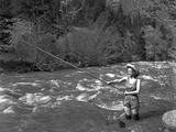 Girl Fishing  c1935