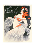 'La Criolla'  Music Hall Poster  1902