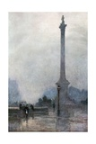 Nelson's Column in a Fog