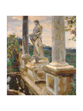 Statue of Vertumnus at Frascati  1907