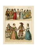 French Costumes 1600-1670