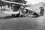 Japanese Military Plane in Manchuria  1933