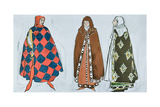 Costume Designs for 'Le Martyre de Saint Sebastien'  a Dramatic Work Commissioned by Ida…