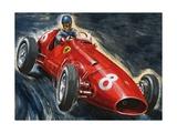 Alberto Ascari Driving a Maserati