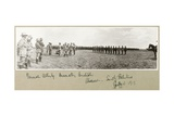 General Allenby Decorating Australian Troops at Abassan  South Palestine  August 1917
