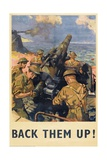 'Back Them Up!' Poster  1941