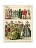 English Costume 1500-1550
