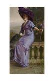 Study in Purple: Portrait of Gertrude McFarland  1912