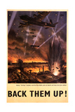 'Back Them Up' Poster  c1942