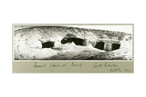 Ancient Caves at Kasif  South Palestine  October 1917