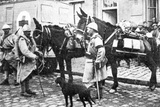 Red Cross Wagon During WWI