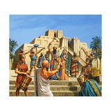 Babylonian Temple Raised to the Glory of Sargon