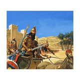King Hammurabi Goes to War  His Chariot Drawn by Asses of a Particularly Tough Breed