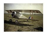 Nieuport Biplane  Aisne  France  1917