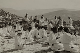 Samaritans Praying on Mount Gerizim  1920
