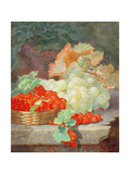 Redcurrants and Grapes  1864