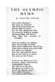'Non Nobis  Domine! Not Unto Us  O Lord'  Olympic Hymn Set to Music by Roger Quilter for the…