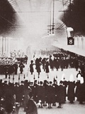 Paddington Station  George V's Body on the Way to His Final Resting Place at Windsor  1936
