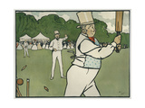 Old English Sports and Games: Cricket  1901