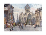 St Giles's Cathedral from the Lawnmarket