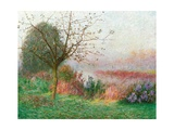 October Morning on the River Lys  1901