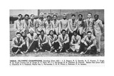 The Indian Hockey Team  Champions and Gold Medalists at the 1948 London Olympics