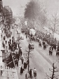 Crowds Waiting for Access to Westminster Hall  During the Lying in State of George V  1936