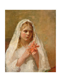 The First Communion - the Artist's Daughter
