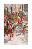 The Procession of the Holy Carpets Past the Prince and Princess of Wales at Cairo  February 5Th …