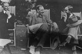 Bertrand Russell  J M Keynes and Lytton Strachey  c1917