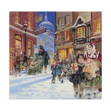Dickensian Christmas Scene