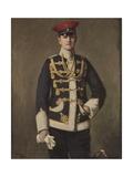 'Der Kleine Lieutenant'  Portrait of Hans Herwarth Von Bittenfeld  1902