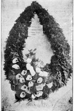 Wreath Sent by Australia as Last Sorrowful Tribute of Respect for the Funeral of Queen Victoria …