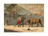 Julius Caesar Watching a Circus Entertainment
