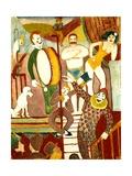 Circus Artists  1911