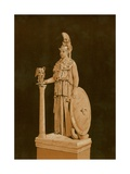 Statue of Minerva Found in Athens