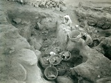 Garstang Recording Excavated Middle Bronze Age (2000-1500 BC) Store Rooms  1930