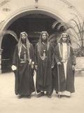 Sherif Abdullah's Attendants  Jerusalem  1921
