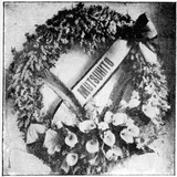 Wreath Sent by Emperor Mutsohito of Japan for the Funeral of Queen Victoria  1901