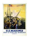 US Marines  1917