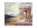Arc de Triomphe  c1912