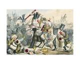 Terrific Combat Between Richard Coeur de Lion and Saladin
