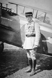WWI French Air Ace Sous-Lieutenant Rene Fonck  Awarded Legion d'Honneur after Six Victories  8th…
