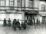 Militiamen in a St Petersburg Street  October 17  1905