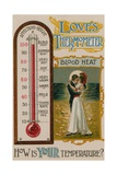 Love's Thermometer - How's Your Temperature  1913