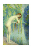 Bather Washing Her Hair; Baigneuse Se Lave Les Cheveux  1903