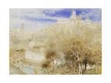 The Fonte Branda  Siena  1905