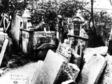 The Old Jewish Cemetery in Prague  c 1900